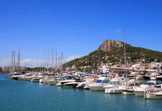 Estartit port (Costa Brava, Spain) Stock Photo