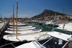 Estartit port, Costa Brava, Spain royalty free stock image