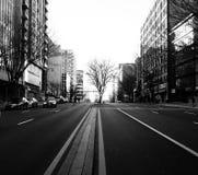 Estas calles imagen de archivo