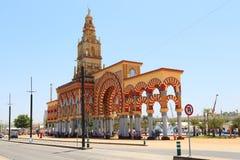 Estasi l'arco al sito festivo a Cordova, Spagna Immagini Stock
