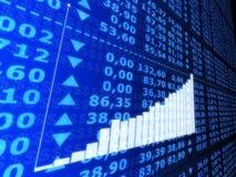 Estatística de aumentação Imagem de Stock Royalty Free