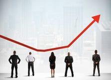 Estatísticas bem sucedidas Fotografia de Stock