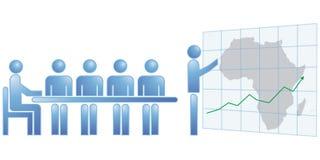 Estatísticas de África Imagens de Stock Royalty Free