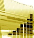 Estatísticas de negócio Imagens de Stock