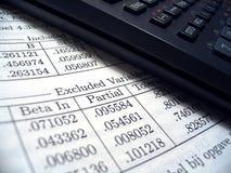 Estatísticas II Imagem de Stock
