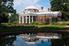 The Estate. Thomas Jefferson's House at Monticello Royalty Free Stock Photography