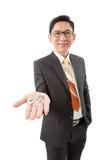 Estate agent holding keys Stock Images