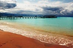 Estate alla spiaggia immagine stock