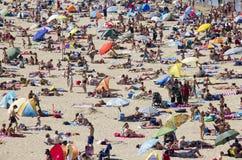 Estate alla spiaggia Fotografia Stock Libera da Diritti