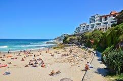 Estate alla spiaggia di Bondi, Sydney, Australia Immagine Stock
