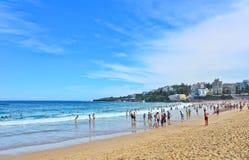 Estate alla spiaggia di Coogee Fotografia Stock