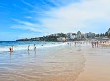 Estate alla spiaggia di Coogee Fotografia Stock Libera da Diritti