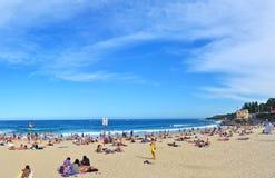 Estate alla spiaggia di Coogee, Sydney, Australia Fotografia Stock