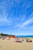 Estate alla spiaggia di Coogee, Sydney, Australia Immagini Stock Libere da Diritti