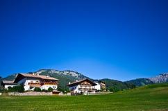 Estate in alpi italiane Fotografie Stock