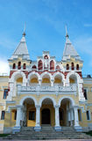 The estate of the baron von-Derwis in Kiritsakh. Nowadays tubercular sanatorium. Ryazan region. Royalty Free Stock Photo