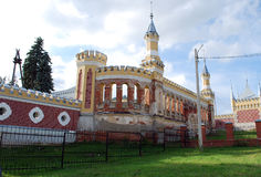 The estate of the baron von-Derwis in Kiritsakh. Nowadays tubercular sanatorium. Ryazan region. Stock Image