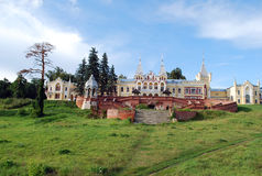 The estate of the baron von-Derwis in Kiritsakh. Nowadays tubercular sanatorium. Ryazan region. Stock Photos