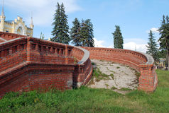 The estate of the baron von-Derwis in Kiritsakh. Nowadays tubercular sanatorium. Ryazan region. Royalty Free Stock Images