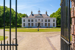 Estate Beeckestijn in Velsen, Netherlands Royalty Free Stock Image