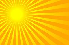 Estate brillante calda Sun Immagini Stock