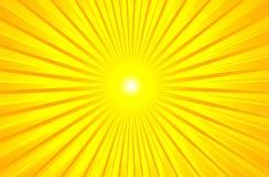 Estate brillante calda Sun Fotografia Stock
