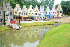 Estate and canal Royalty Free Stock Photography