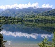Estate dal lago Fotografia Stock