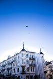 Estate 7 degli appartamenti di Oslo Fotografia Stock