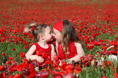 estate dei bambini dei bambini Fotografia Stock