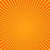 Estate del fondo del modello dello sprazzo di sole del raggio del fascio di Sun Modello di estate di lustro Vettore illustrazione di stock