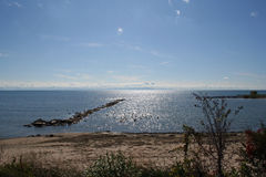 Estate del lago Erie Immagine Stock