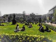 Estate del parco di Bergen fotografia stock libera da diritti