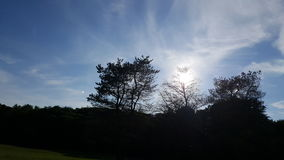 Estate del sole del cielo bella Fotografia Stock Libera da Diritti