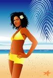 estate della ragazza del bikini Fotografia Stock Libera da Diritti