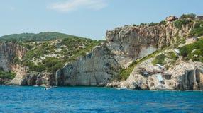 Estate delle Isole Ionie Fotografie Stock