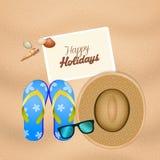 estate felice di feste Fotografie Stock
