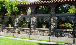 Estate garden Stock Photos