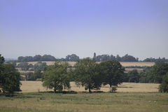 Estate. And grounds of english stately home royalty free stock images