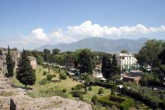 Estate in Italia Pompei Immagini Stock
