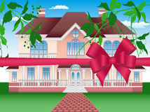 Estate for life. As a gift for you- vector illustration Stock Images