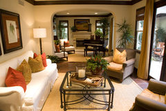 Estate living space Stock Image