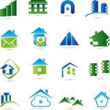 Estate Logos, construction logos Stock Photography