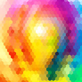 Estate luminosa di colori del fondo astratto senza cuciture Fotografia Stock Libera da Diritti