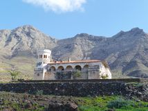 Estate in the mountains of the Jandia peninsula in Spain Royalty Free Stock Image