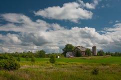 estate naturale dei cieli di disegno della priorità bassa Fotografia Stock