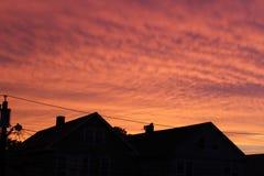 estate naturale dei cieli di disegno della priorità bassa Fotografie Stock Libere da Diritti
