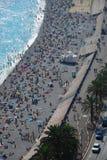 Estate in Nizza, Francia Fotografia Stock Libera da Diritti