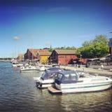 Estate Norvegia 2013 fotografie stock libere da diritti