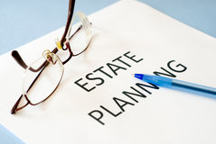 Estate planning Stock Images